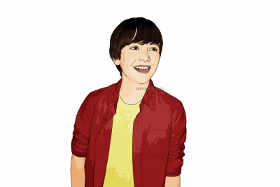 cartoon photo of Greyson Chance