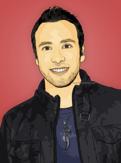 cartoon photo of howie dorough by cartoonized.net