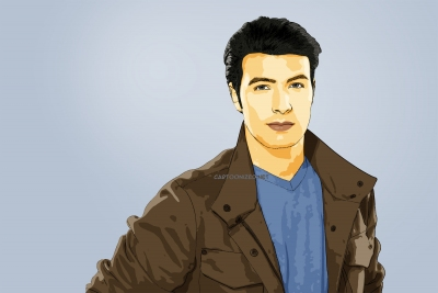 cartoon photo of jencarlos canela by cartoonized.net