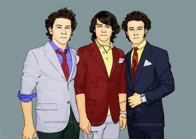 Nick Jonas, Joe Jonas, Kevin Jonas, The Jonas Brothers