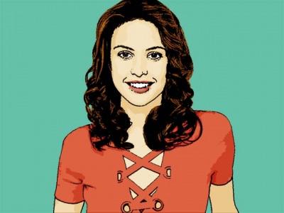 Photo Cartoon of josie maran
