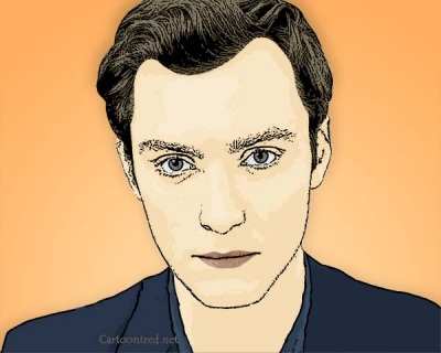 Photo Cartoon of Jude Law