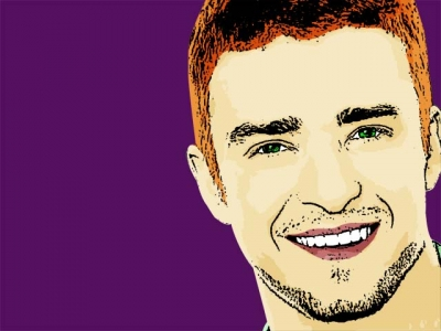 Photo Cartoon of Justin Timberlake