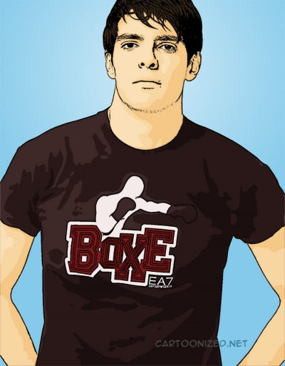 cartoon photo of kaka
