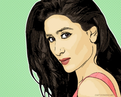 Photo Cartoon of Kareena Kapoor