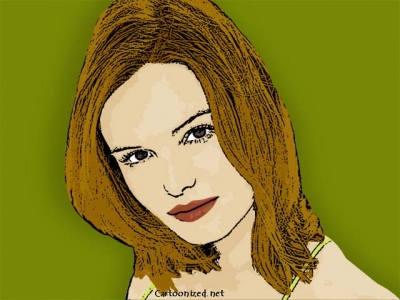 Photo Cartoon of Kate Bosworth