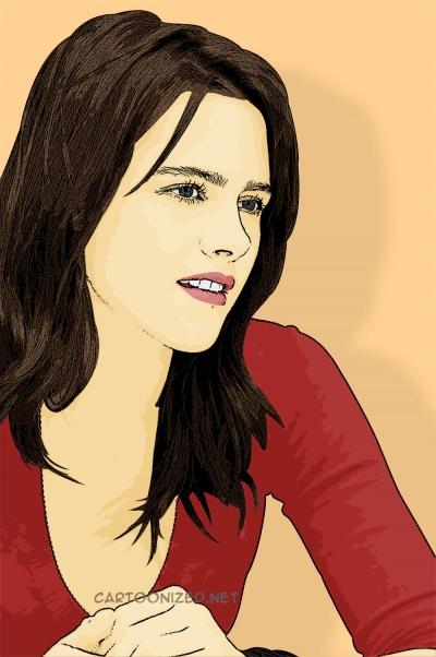 Kristen Stewart cartoon photo