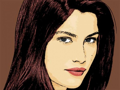 Photo Cartoon of laetitia casta