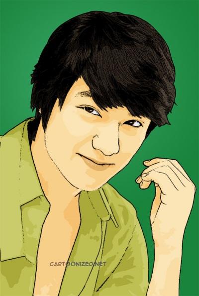 Photo Cartoon of Lee Min Hoo
