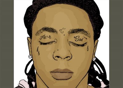 Lil Wayne cartoon photo