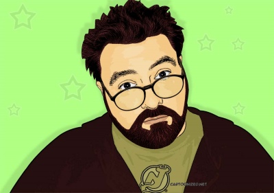 Photo Cartoon of Kevin Smith
