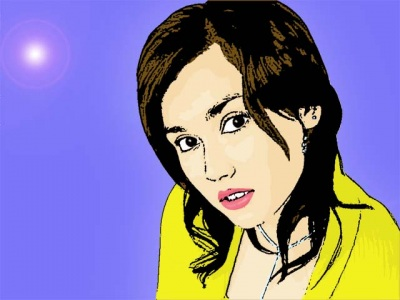 Photo Cartoon of Maria Ozawa