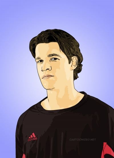 Photo Cartoon of Michael Ballack