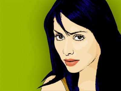 Photo Cartoon of Natalie Imbruglia