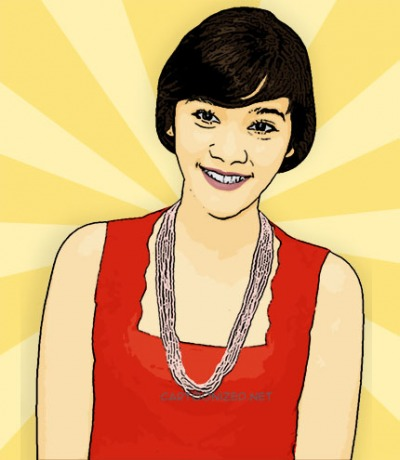 Photo Cartoon of Naysila Mirdad