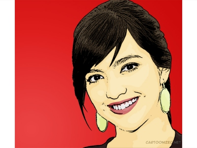 nia ramadhani cartoon photo
