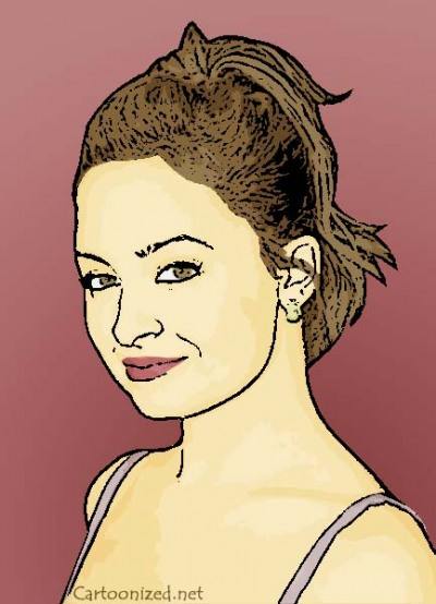 Photo Cartoon of Nicole Richie