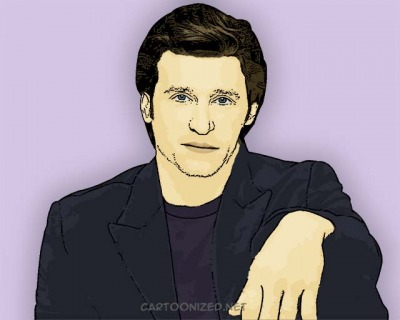 Photo Cartoon of Patrick Dempsey
