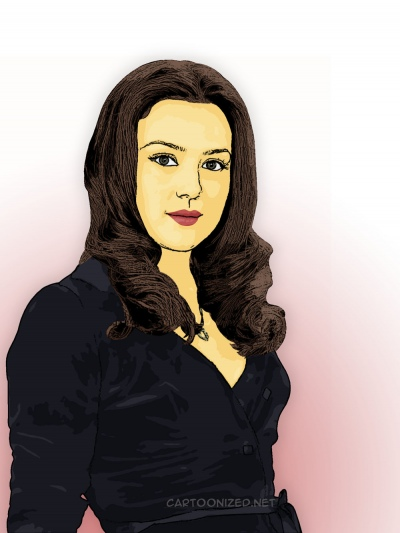 Photo Cartoon of Preity Zinta