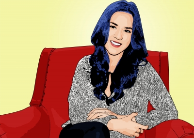 Photo cartoon of Raisa