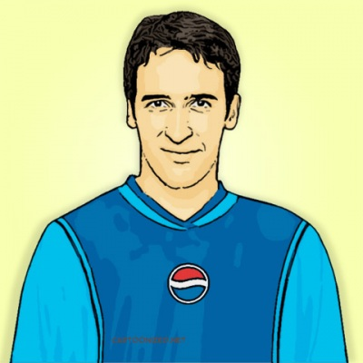 Photo Cartoon of Raul Gonzalez