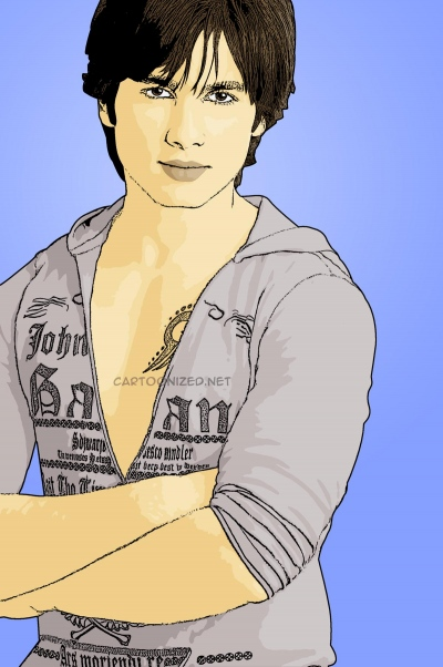 Photo Cartoon of Shahid Kapoor
