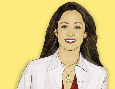 Photo Cartoon of Stacey Dash