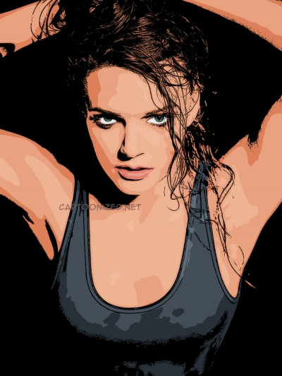 Photo cartoon of Tove Lo