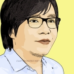 Photo cartoon of Ari Lasso