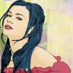 Photo Cartoon of Carmen Electra