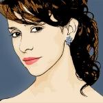 Photo Cartoon of Jennifer Love Hewitt