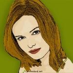 Photo Cartoon of Kate Bosworth