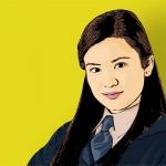 Photo Cartoon of katie leung