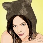 cartoon photo of Lenka