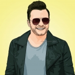 Photo cartoon of Shane Filan