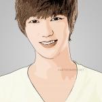 cartoon photo of Yesung